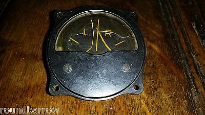 Raf Wwii Lancaster Bomber Cockpit Gauge Direction Finder D/f Indicator 10Q/2