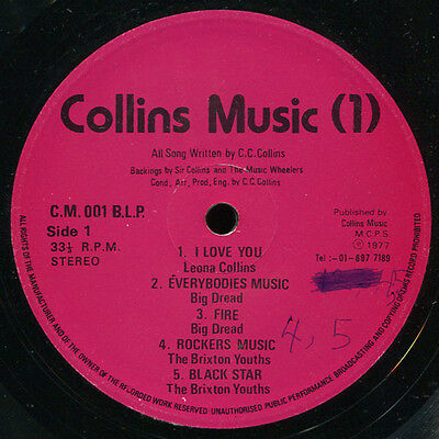Sir Collins (C C Collins) - Music (1) 'Peace And Love' LP Listen!