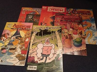 Selection Of 7 Graphic Magazines (Adventure time)