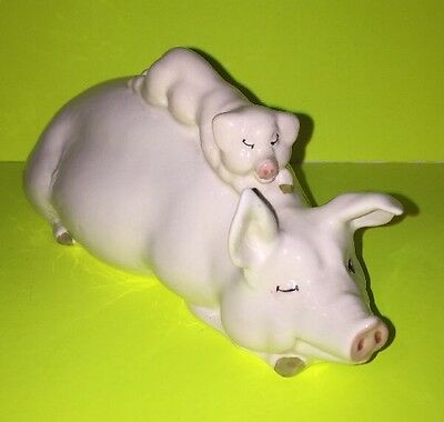 Vintage Beswick Pig and Piglet MN 2746