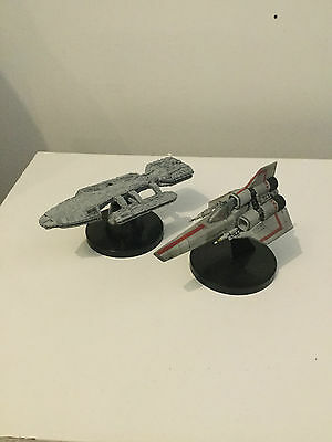 Battlestar Galactica Konami SF Movie Selection Battlestar Pegasus & Col Viper