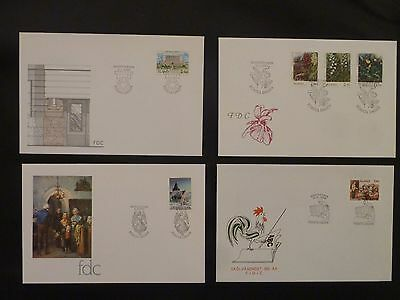 Aland 1989 FDC komplett / FDC complet