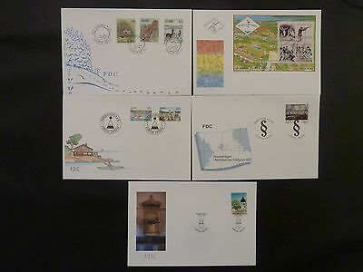 Aland 1991 FDC komplett / FDC complet