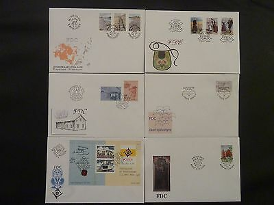 Aland 1993 FDC komplett / FDC complet