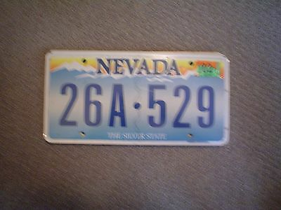 Nevada Silverstate Graphic       License Plate    Buy All States Here