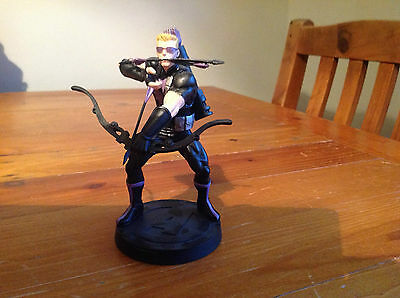 Marvel Fact Files Special Edition Hawkeye Figurine Only Boxed. The Avengers.