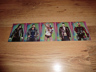 Suicide Squad 5 Exclusive Trading Cards Very Collectable Brand New