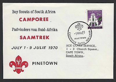 South Africa 1970 Scouts of South Africa Jamboree: CAMPOREE Pinetown, special ca