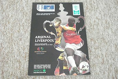 2001 ARSENAL v LIVERPOOL  FA CUP FINAL PROGRAMME