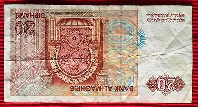MOROCCO - Used Banknote 20 Dirhams