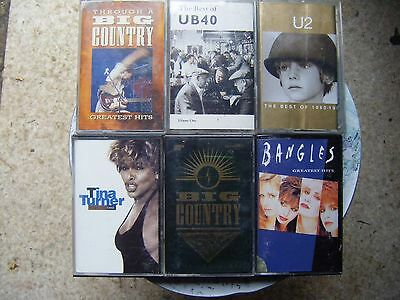 Job Lot Of   Compilations , Best Of  Greatest Hits  Tape Cassettes