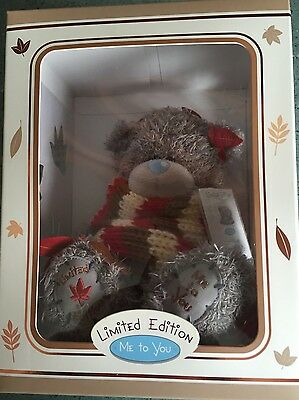 Boxed Limited Edition - Me To You Tatty Teddy Seasonal Bear - Autumn