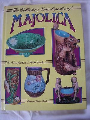 The Collector's  Encyclopedia Of Majolica - Glorious Photo's-Enlarge 14 Pics