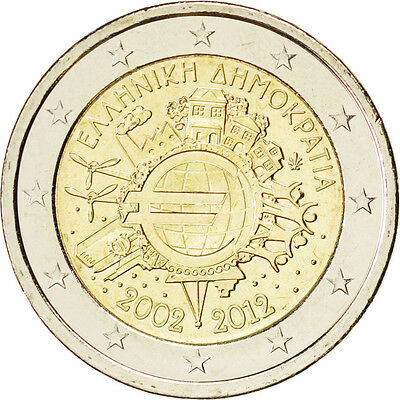 [#84983] Greece, 2 Euro, 2012, MS(63), 8.50