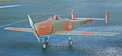 """RC Model Aircraft Building Plan """" General Aircraft Owlet """" Electric Sport-Scale"""