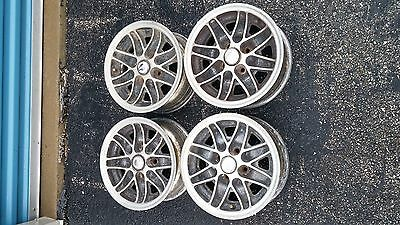 Reduced Price! 13x6 Cosmic Wheels 4x100 BMW Opel VW set of 4