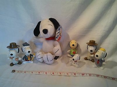 Peanuts 50 Celebration soft Snoopy & other figures too