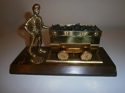 Brass Coal Miner And Truck