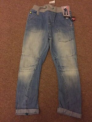 Boys Next Jeans BNWT 8years Rib Waist Pull On RRP £17