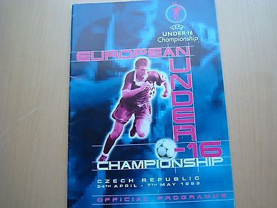 UEFA UNDER-16 CHAMPIONSHIPS APR/MAY 1999 IN Czech Republic