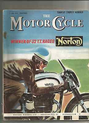 I.o.m. T.t. The  Motorcycle  Norton Bsa Matchless