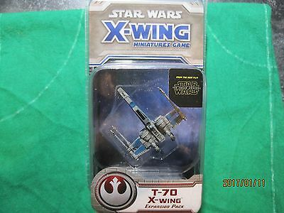 Star Wars X-Wing Miniature  T-70 X-Wing (Tfa) Expansion Pack Sealed