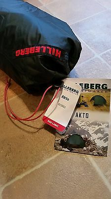 Hilleberg Akto Solo Lightweight 4 Season Backpacking Tent New Condition