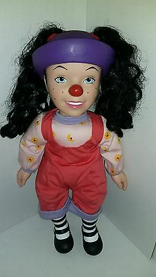"Vintage Big Comfy Couch 18"" Loonette Talking  Doll Plush 1996 Playmates"