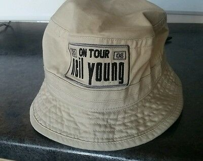 neil young tour hat