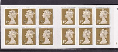 GB QEII Barcode Booklet 2006 - MF3a (revised text)  - Cylinder W3 - MNH