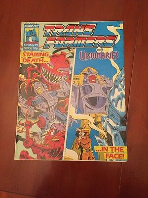 Marvel UK Transformers G1 Issue Number 216 May 1989