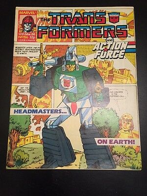 Marvel UK Transformers G1 Issue Number 156 March 1988