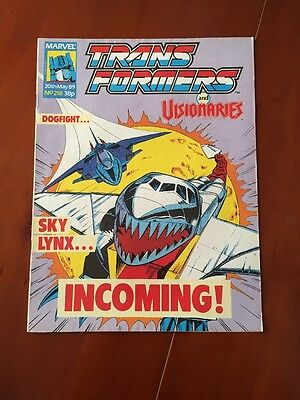 Marvel UK Transformers G1 Issue Number 218 May 1989