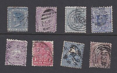 Stamps New South Wales early used