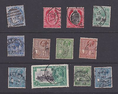 Stamps Malta early used