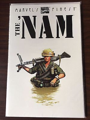 The 'Nam # 1 2 3 4 12 53 67 68 Marvel Finest tpb the Punisher VF+/NM