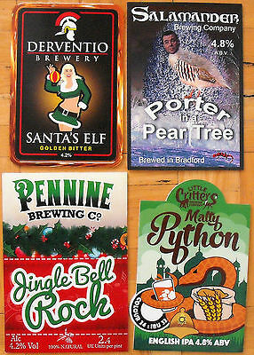 4 DIFFERENT PUMP CLIPS FROM MICROBREWERIES - Lot 4