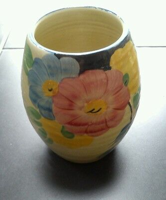 H.j.wood Handpainted Vase