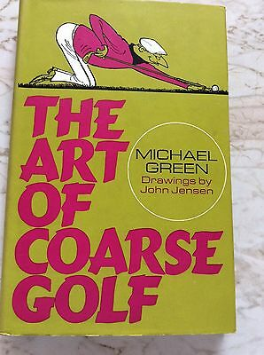 Very good condition Art of Coarse Golf 1st edition