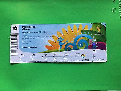 Ticket Portugal - Ghana World Cup Brazil 2014 Match N. 46