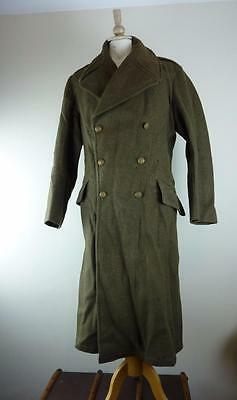 1939 Pattern / Dated WWII British Military Army Greatcoat, Large Size