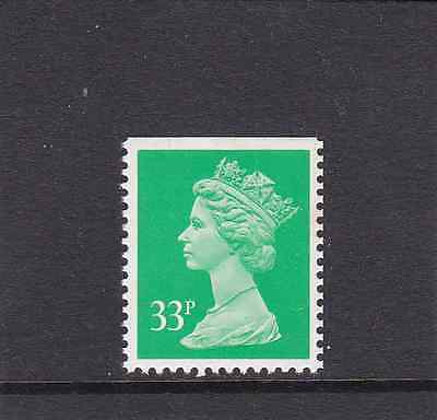 GB QEII Booklet Stamps 1991 :  33p - SG x1057 - MNH