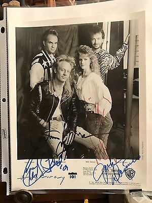 Vintage Autographed Photo Highway 101
