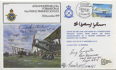 Dam Busters 617 sqdn Multi Signed Cover