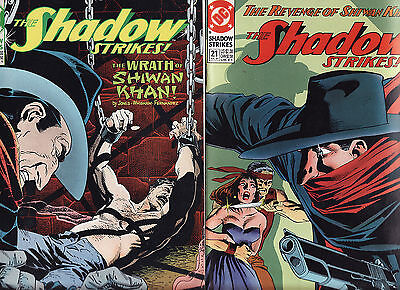 1991/2 Dc The Shadow Strikes Issues 21,23,25
