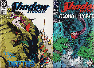 1991/2 Dc The Shadow Strikes Issues 27 To 29