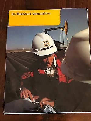 Amerada Hess Gas Station Rare Employee & Business Book Lots Of Pictures