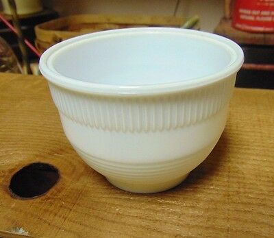 Androck Small Art Deco White Replacement Mixer Bowl