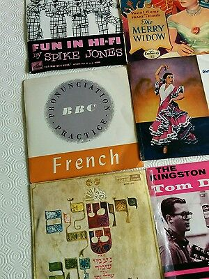 9 vintage 45 record compilations