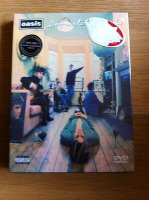 OASIS RARE DEFINITELY MAYBE 10th ANNIVERSARY DVD / CD BOX SET - NEW AND SEALED